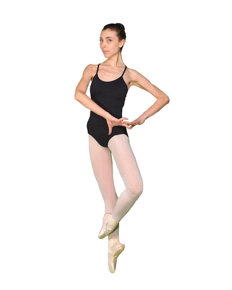 COSMOS İp Askılı Çapraz Sırt Bale/Dans Çalışma Mayosu