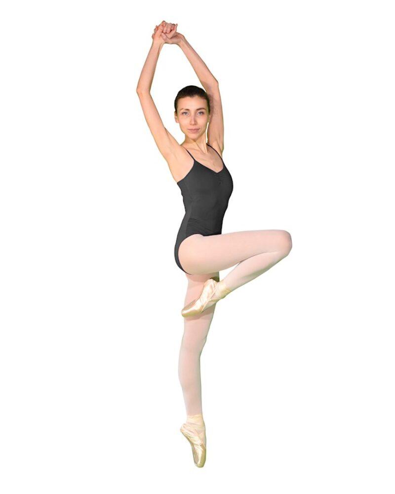 PEONY İp Askılı Sırt Detaylı Bale/Dans Çalışma Mayosu